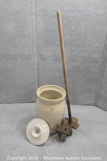Number 3 Butter Churn Crock