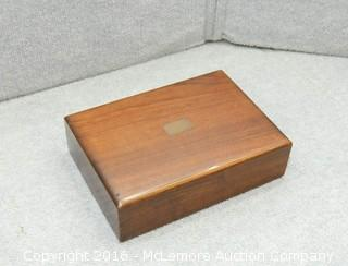 Solid Walnut Wooden Box