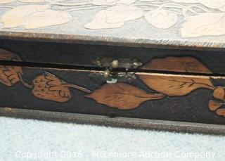 2 Decorative Wooden Boxes