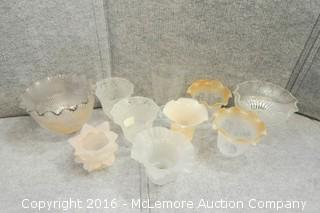 Assortment of Lamp Globes