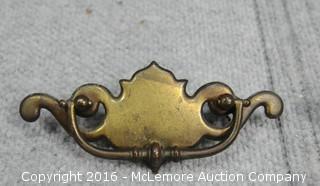 Large Assortment of Vintage Brass Pulls
