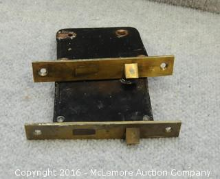 2 Yale Antique Door Locks
