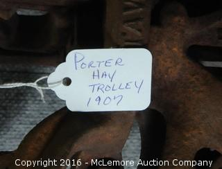 Antique 1907 Porter Hay Trolley