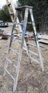 6 Foot Wooden Step Ladder