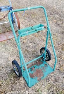 Metal Rolling Acetylene Torch Cart