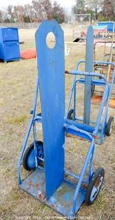 Metal Rolling Acetylene Torch Cart