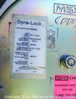 MSA Dyna Lock 50' Self Retracting Life Line