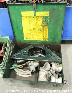 Greenlee Model 777 Portable Hydraulic Bender with Case