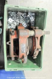"Ridgid Model 161 4"" - 6"" Pipe Geared Threader"