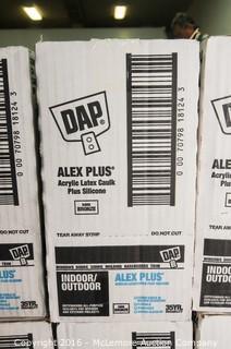 21 Cases Plus Partial Case of DAP Alex Plus Acrylic Latex Caulk Plus Silicone Indoor/Outdoor