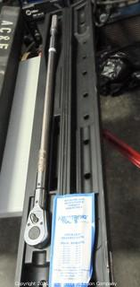 Wright Tool Model 6448 Torque Wrench - 600 Ft Lb