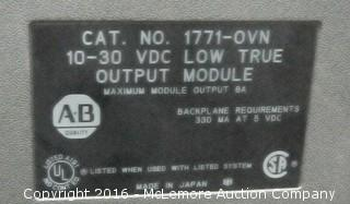 7 Allen Bradley 1771-OVN Digital DC Output Modules PLC5
