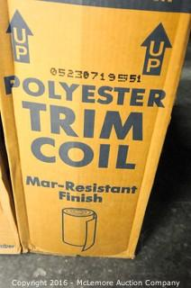 10 Boxes of Polyester Trim Coil