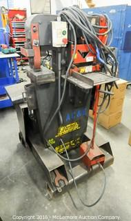 Edwards Manufactoring 50 Ton Hydraulic Jaws IV Ironworker