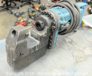 Hougen-Ogura Electro-Hydraulic Electric Hole Punch