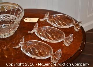 Assortment of Decorative Glassware