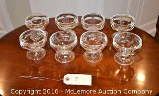 Set of 8 Custard Dishes