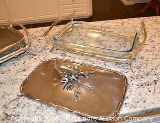 Decorative Casserole Trays