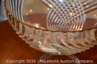 Decorative Glass Bowl