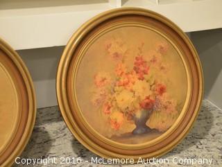 Set of Floral Artwork