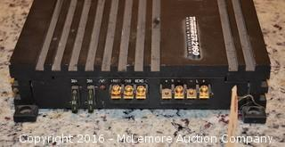 MTX Automotive Ampliphier