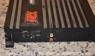 MTX Automotive Ampliphier