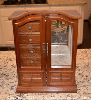 Decorative Wooden Jewelry Box
