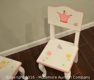 Set of Small Child's Chairs