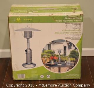Table Top Patio Heater - New in Box