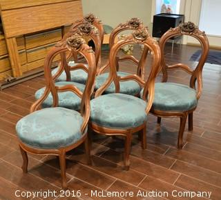 Set of 6 Formal Dining Chairs