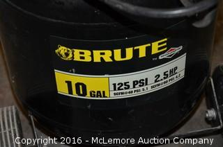 2.5 HP Electric Air Compressor by Brute ( Briggs & Stratton )