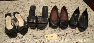4 Pairs of Size 6.5 Women's Shoes