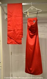 Red Prom Dress Size 12