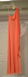 Small Peach Prom Dress