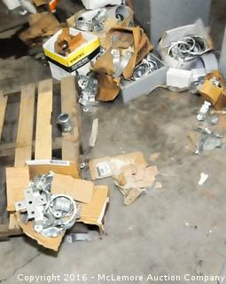 Contents of Garage of Electrical Supplies