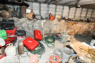 Contents of Basement Area