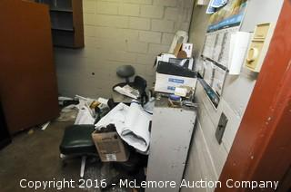 Contents of Warehouse Office