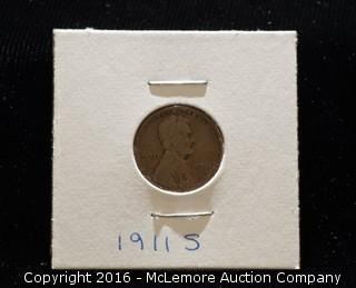 1911s One Cent Coin