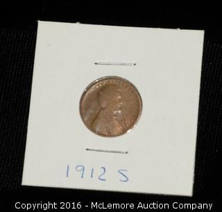 1912s One Cent Wheat Penny