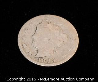 1893 Coin