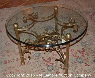 Decorative Glass Coffee Table