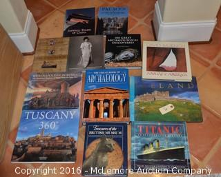 Assortment of Travel Books