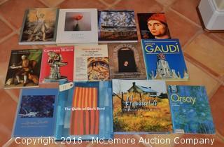 Assortment of Art Themed Books