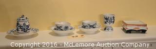 Oriental Themed Glassware Porcelain