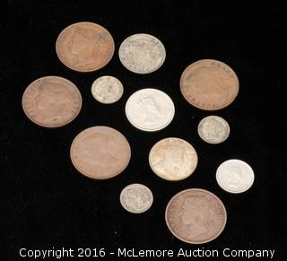 12 Assorted Coins