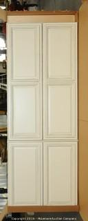 Floor to Ceiling Cabinet  and Base Cabinet with Trim