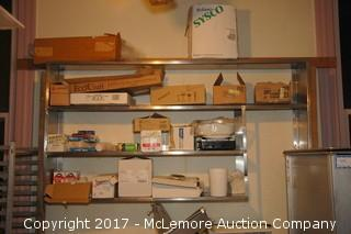 Stainless Wall Mount Shelves