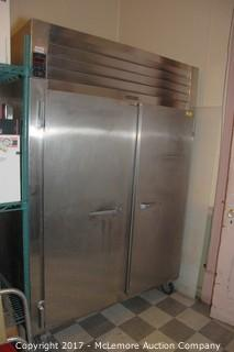 Traulsen & Co. AHT 2-32WUT Stainless Commercial Double Door Refrigerator
