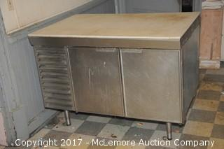 Stainless Countertop Cabinet Refrigerator