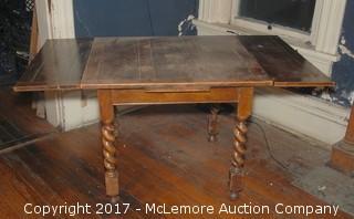 Solid Wood Adjustable Pub Table